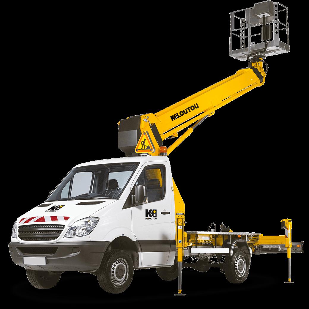 Alquiler Camión cesta articulado – 16,60 m