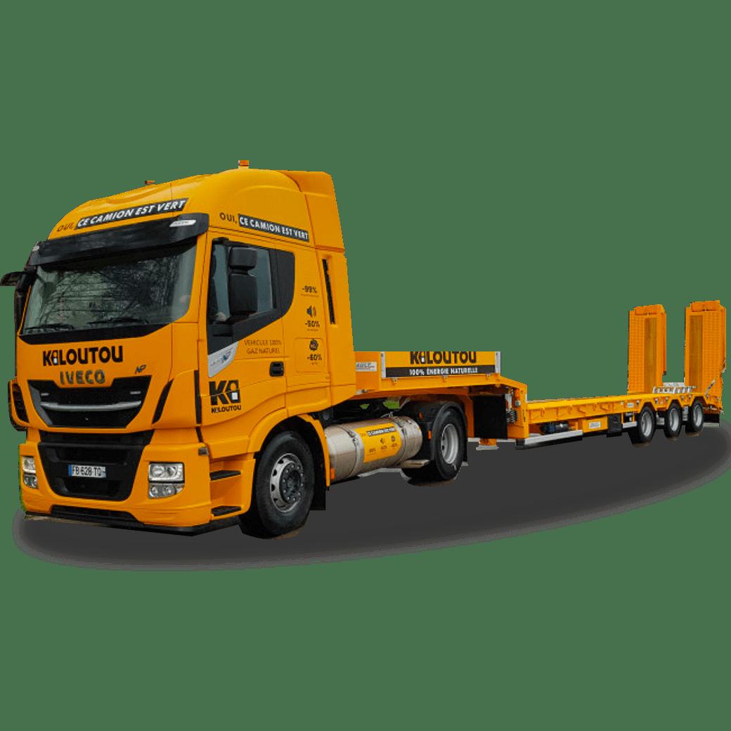 Kiloutou - Transporte