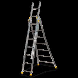 Rental Drabina uniwersalna rozstawna / przystawna – 5 m – 3 segmenty