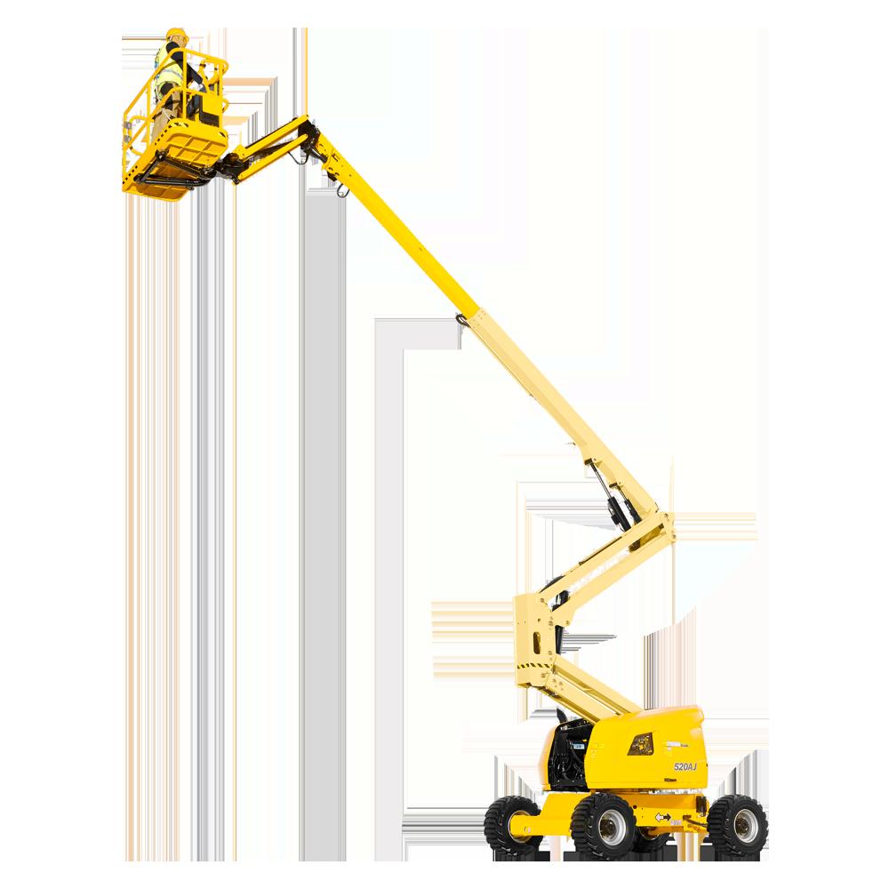 Rental Podnośnik przegub. diesel – h.r. 17,7 m – wysięg 10,6 m