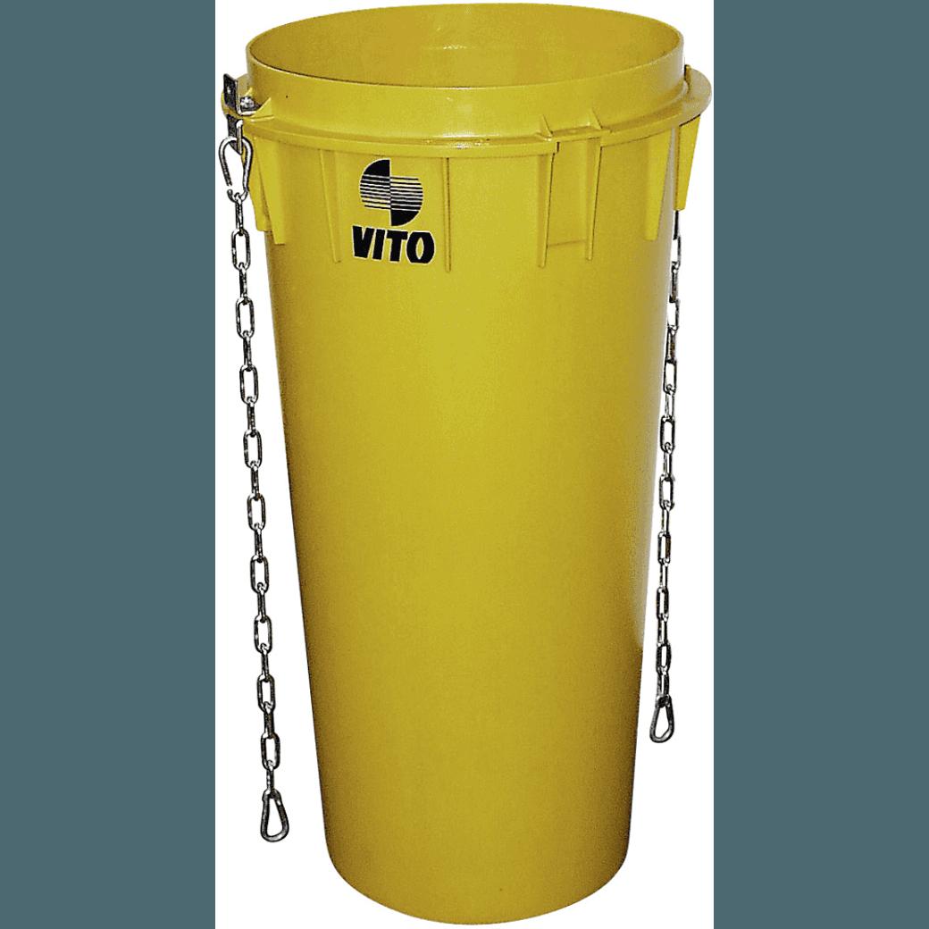 Rental Kubeł zsypowy – 1,1 m – Średnica 50 / 40 cm