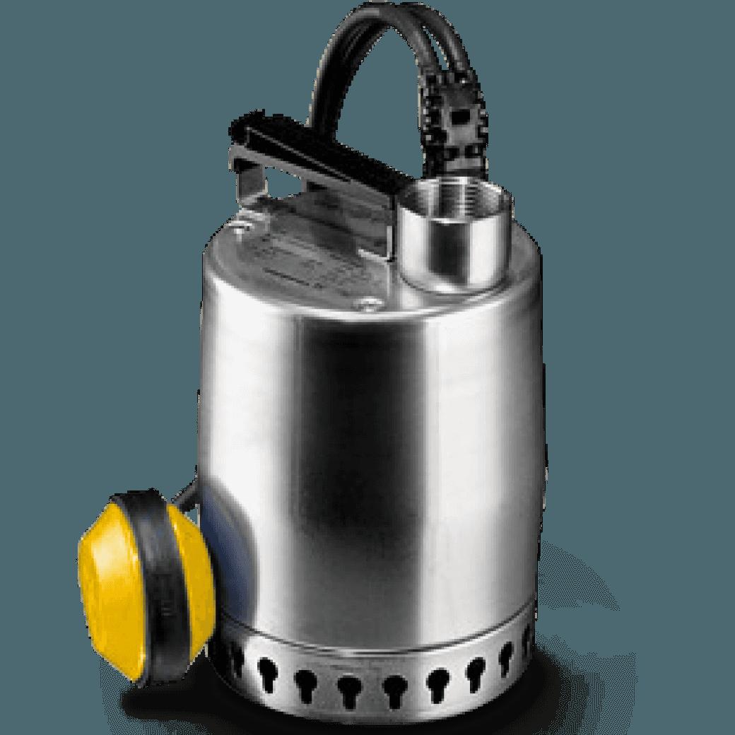 Rental Pompa zanurz. woda czysta – 230 V – 5 m³/godz.